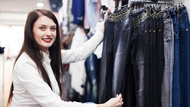 confección y venta de jeans para damas