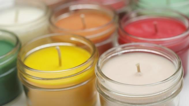 elaboración y venta de velas aromáticas