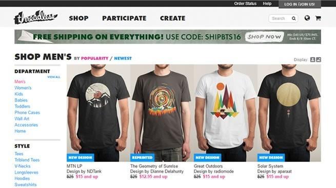 tienda online de camisetas