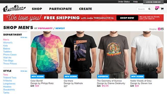 vender productos a través de una tienda online