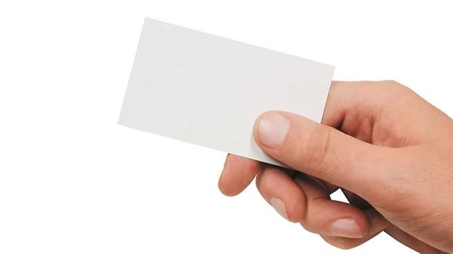 repartir tarjetas de presentación