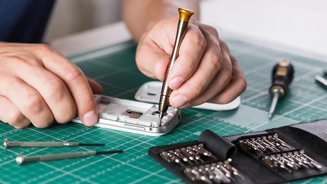 taller de reparación de smartphones