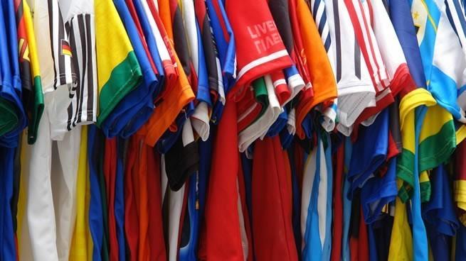 venta de camisetas de fútbol